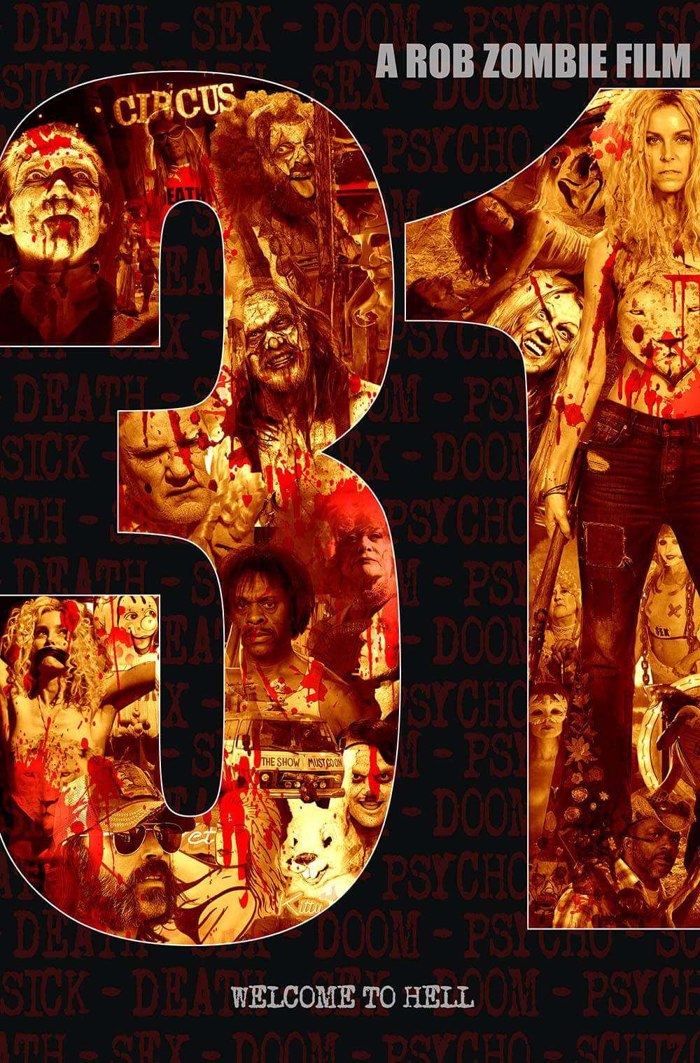 31 movie poster Rob Zombie
