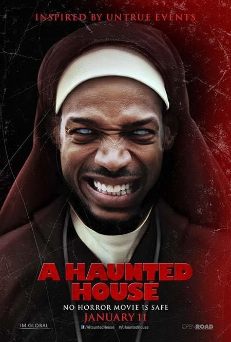 A Haunted House Marlon Wayans funny demon possessed movie spoof of The Devil Inside