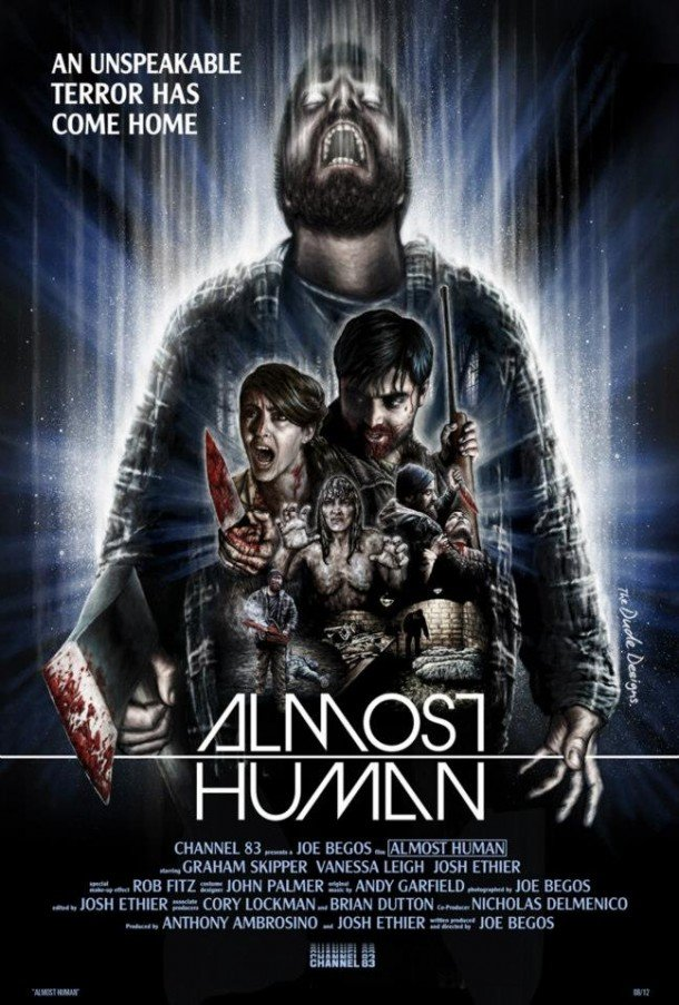 Almost Human Poster by Tom Hudge aka The Dude Designs