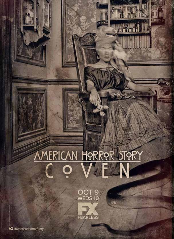 American Horror Story: Coven Poster - Voodoo Queen