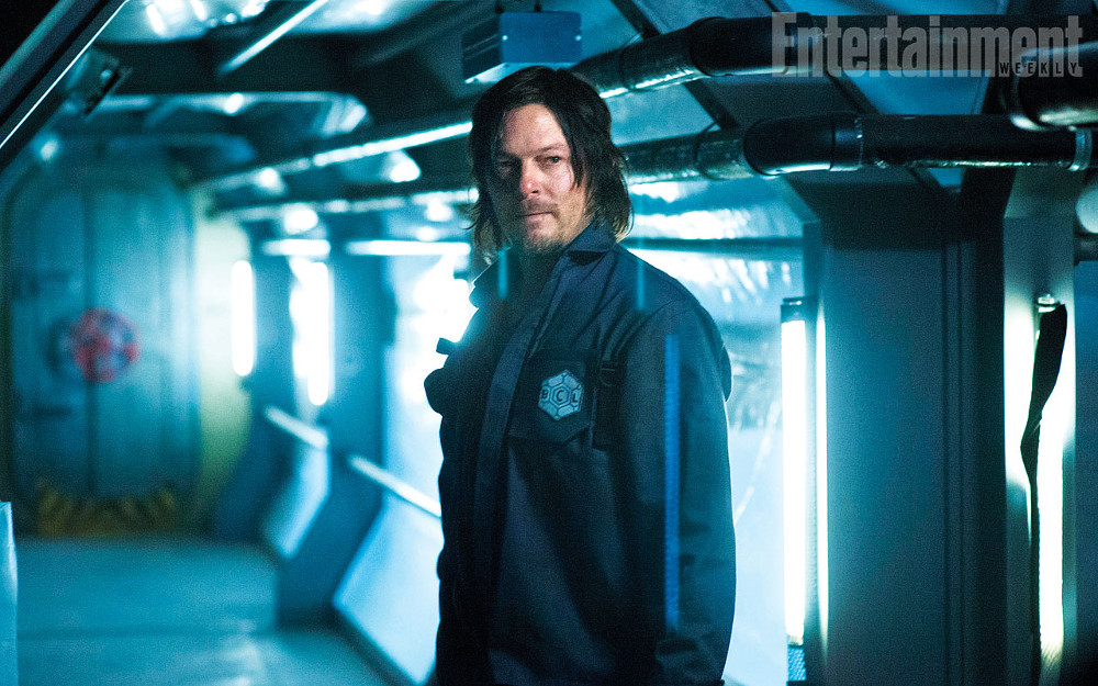 Air movie still Norman Reedus and Djimon Hounsou
