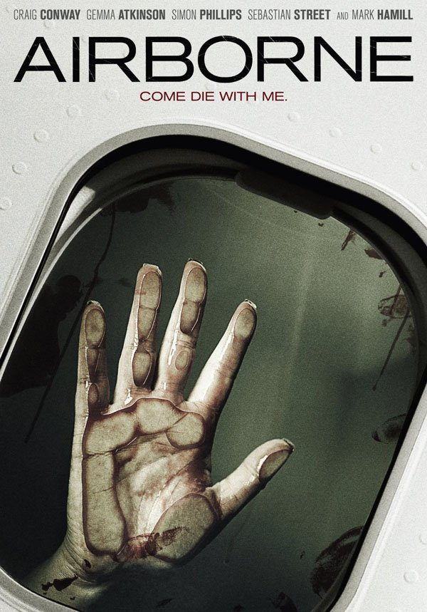 Airborne horror movie releasing October 2012