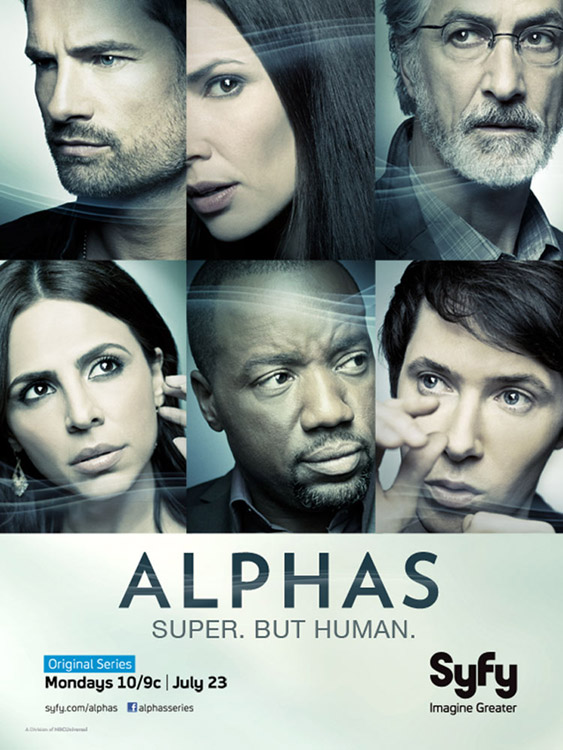 Syfy Alphas Season 2 Official Poster
