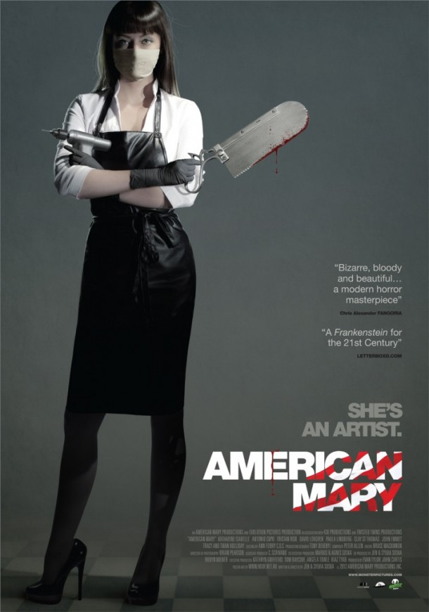 American Mary International Movie Poster