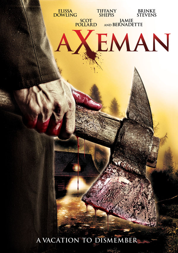 Axeman at Cutters Creek DVD cover
