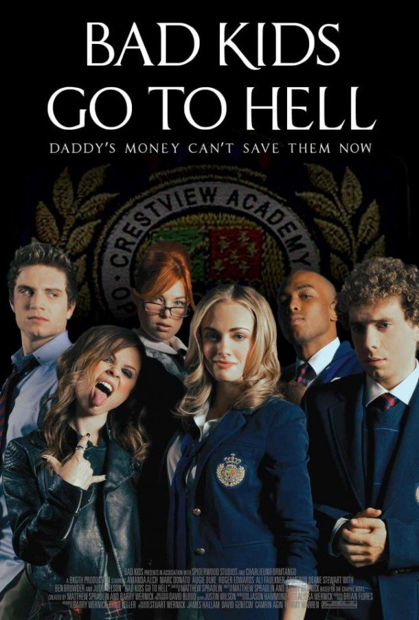 Bad Kids Got to Hell Official New Movie Poster