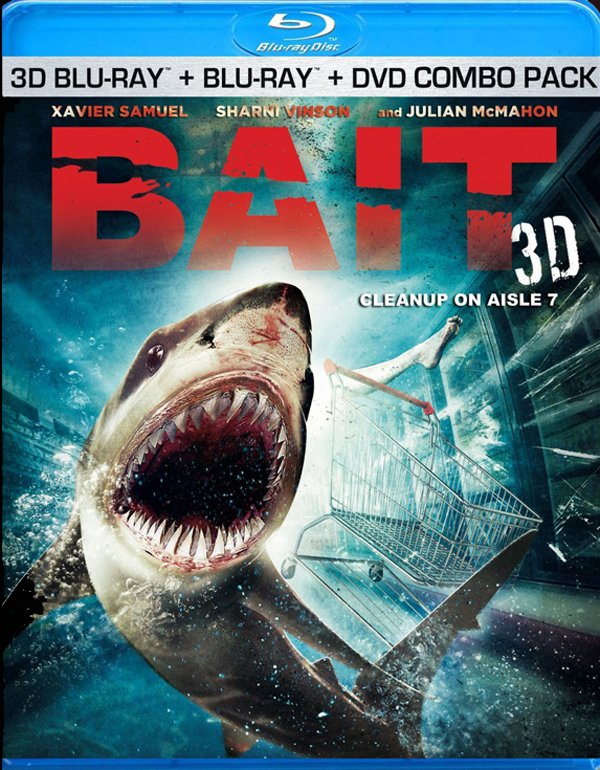 Bait shark movie blu-ray box art