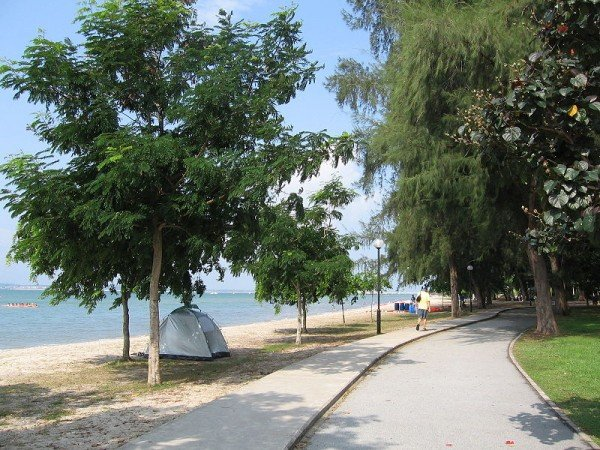 Haunted Places - Changi Beach - Singapore