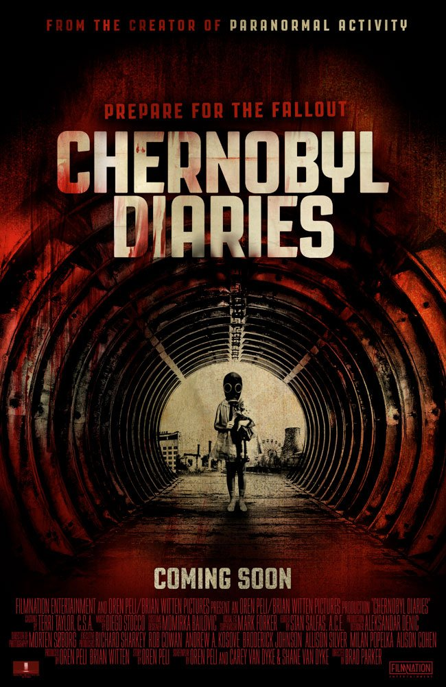 Chernobyl Diaries International Poster