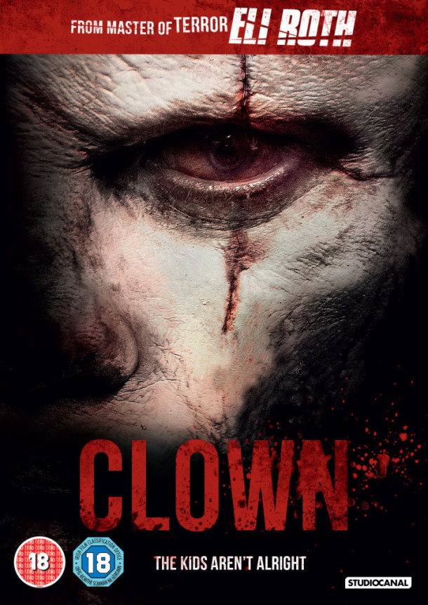 Clown DVD cover art