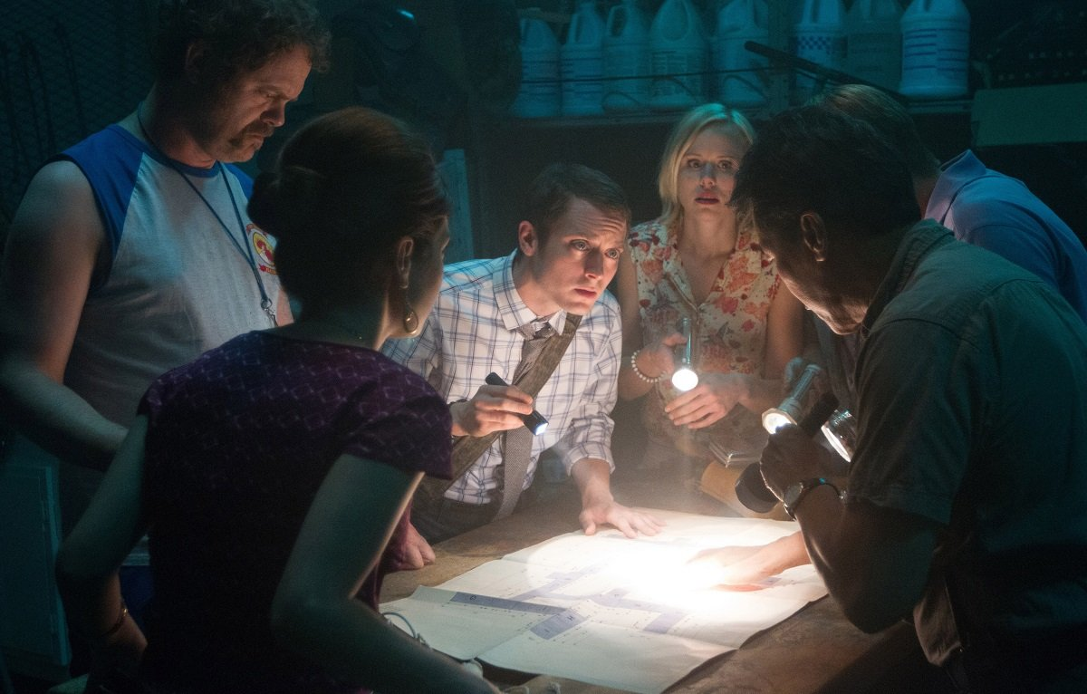 Elijah Woods Cooties horror movie still 2