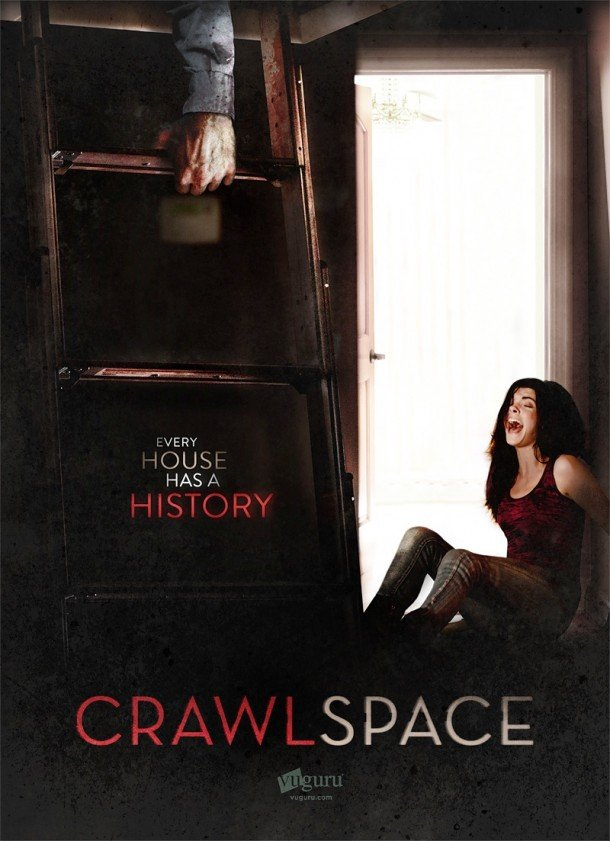 Josh Stolbergs Crawlspace Official Poster for upcoming horror thriller movie