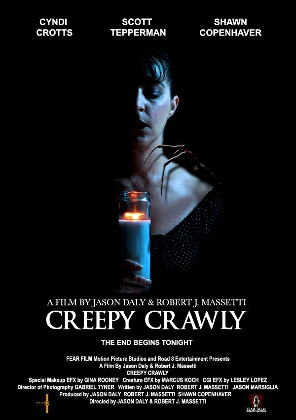 Creepy Crawler poster for creature horror movie