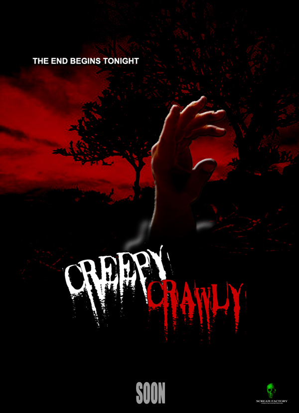 Creepy Crawly Horror Movie Poster