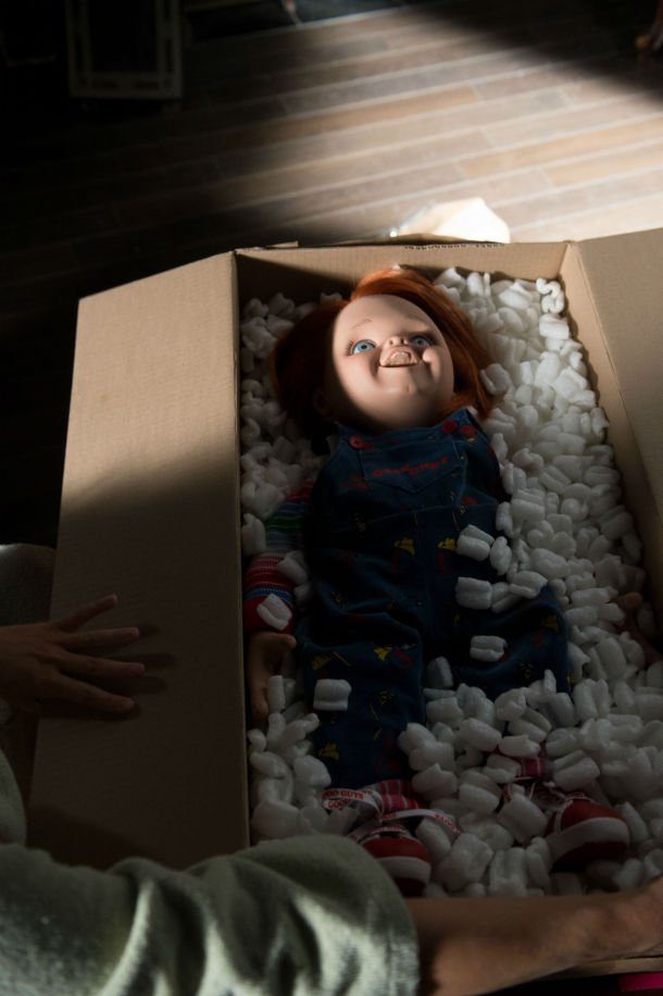 Official Curse of Chucky Photo - Boxed Up