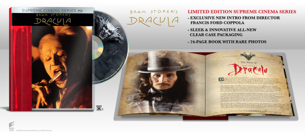 Dracula Blu-ray full features