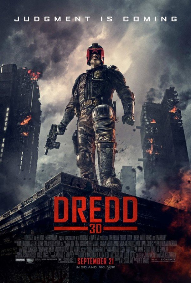 Judge Dredd 3D with Karl Urban