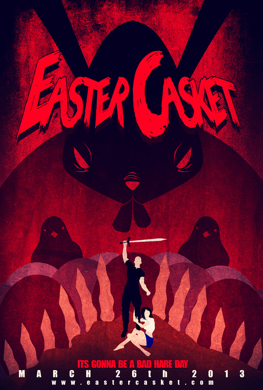 Easter Casket horror movie 2013