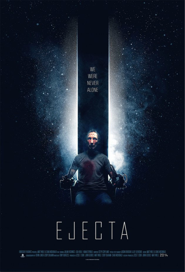 Sci-fi movie Ejecta Poster
