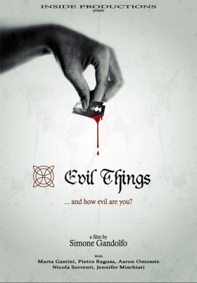 Evil Things Simone Gandolfo Poster