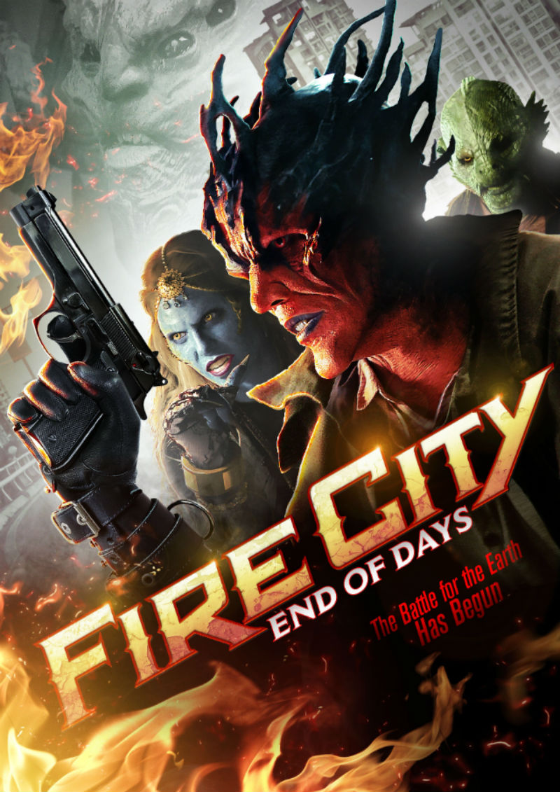 Fire City: End of Days (2015) one sheet poster