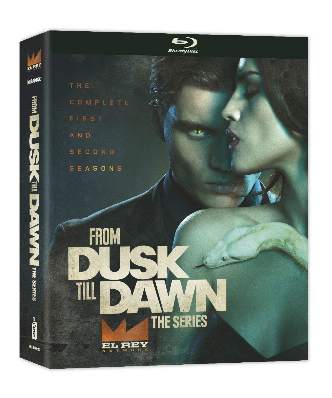 From Dusk Till Dawn Season 1 - Season 2 Blu-ray Box Set