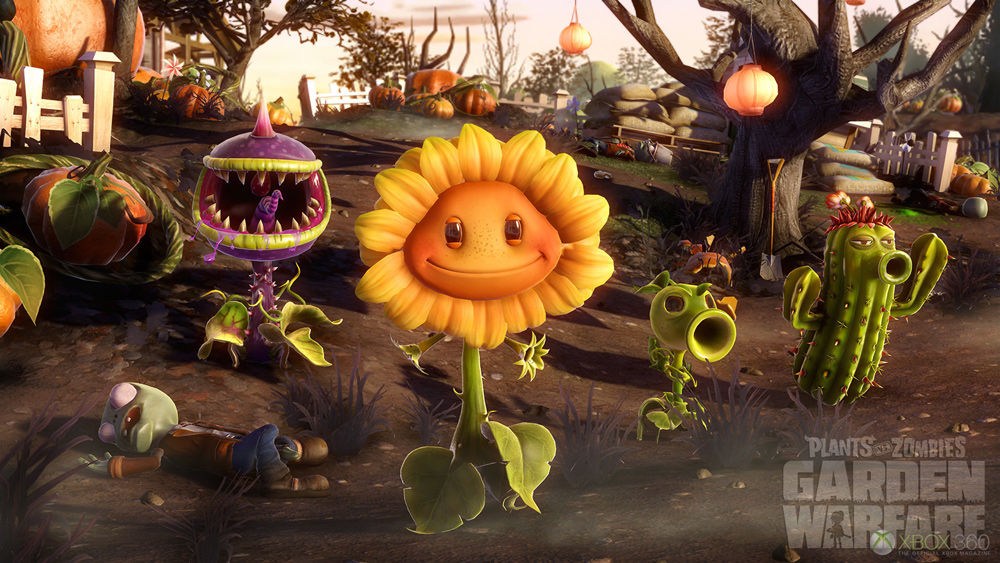 Plants vs Zombies Garden Warfare Gameplay Still 1
