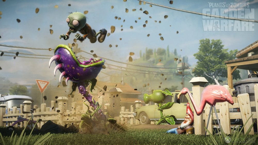 Plants vs Zombies Garden Warfare Gameplay Still 3