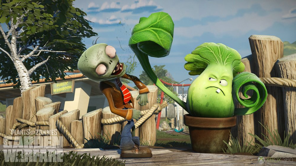 Plants vs Zombies Garden Warfare Gameplay Still 4