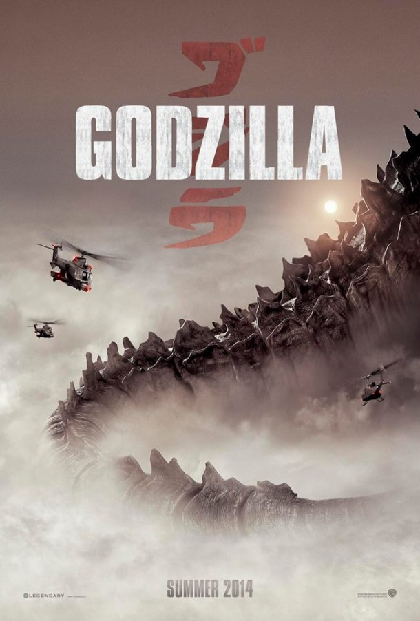 Comic Con Godzilla Movie Poster