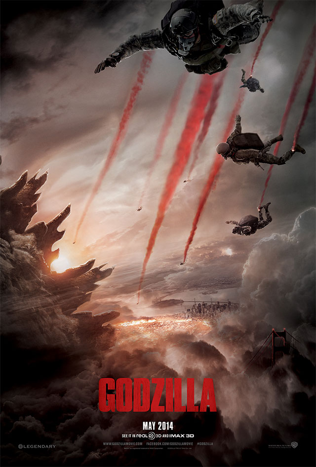 New Godzilla Movie Poster 2