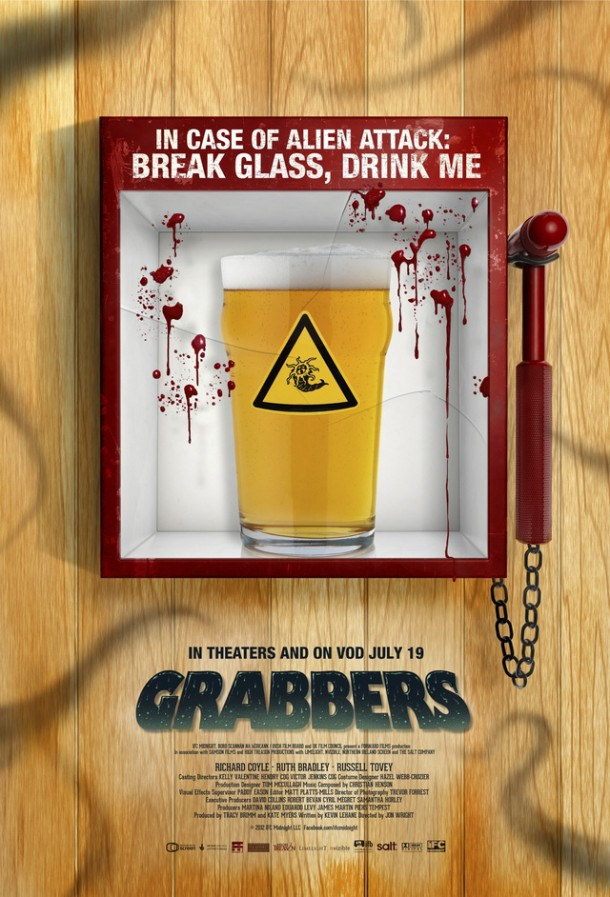 New Grabbers US Poster
