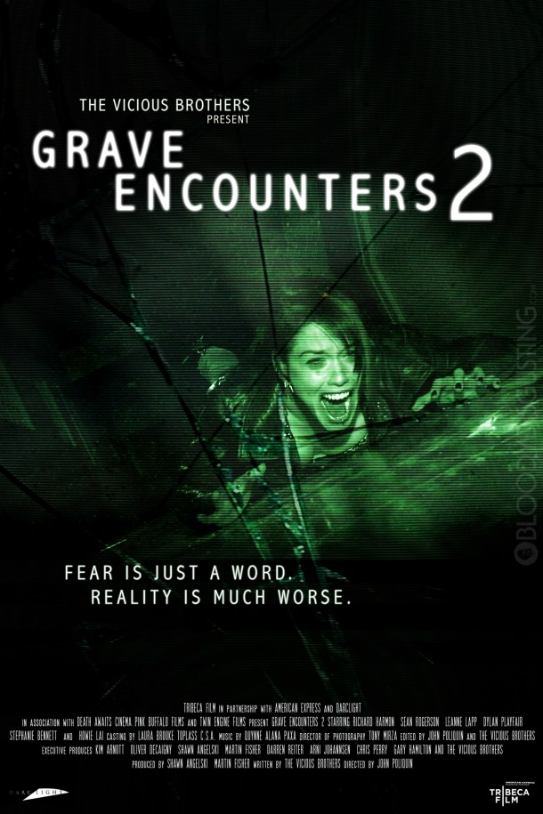 Second Official Poster for Grave Encounters 2 from the Vicious Brothers