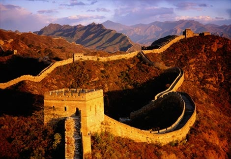 Haunted Places - Great Wall of China