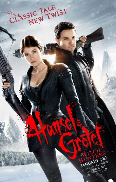 Hansel Amd Gretel Witch Hunters Official Movie Poster