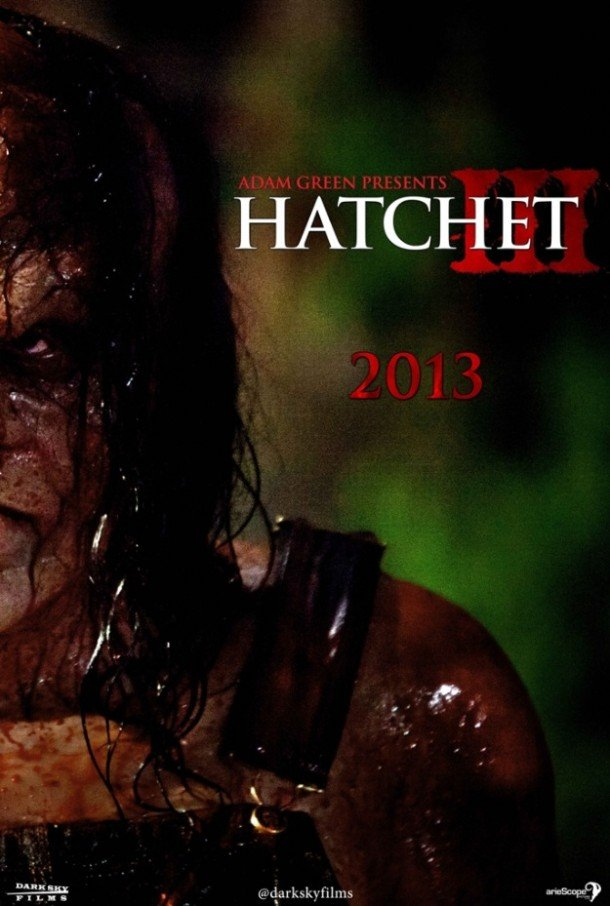 Hatchet 3 Movie Poster