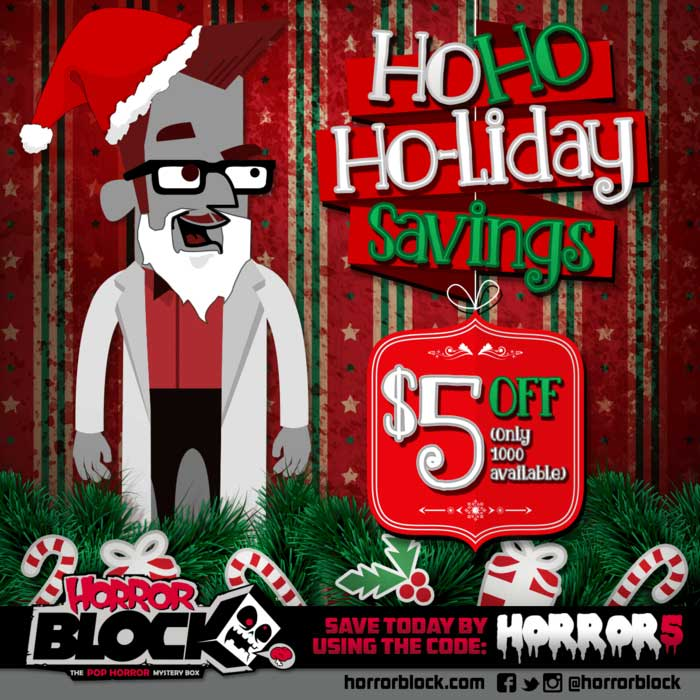 Horror Block coupon code from Hell Horror