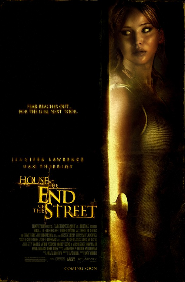 House at the End of the Street One Sheet