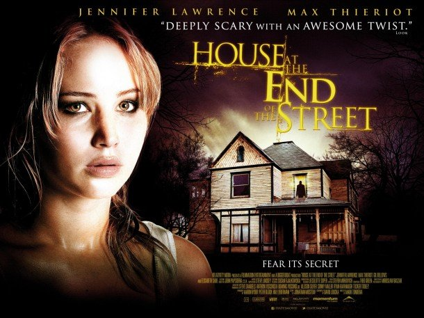 House at the End of the Street UK Poster