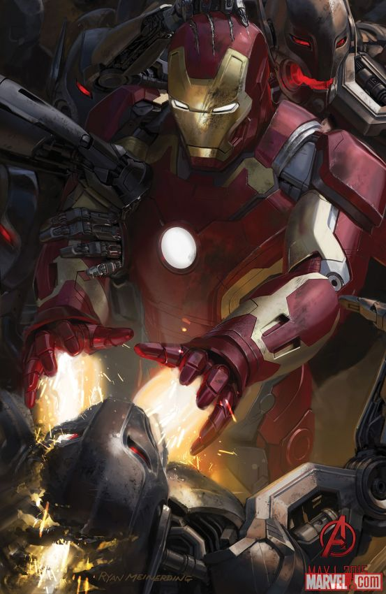 Iron Man from Avengers: Age of Ultron poster