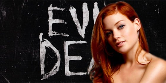 The Evil Dead Remake Jane Levy