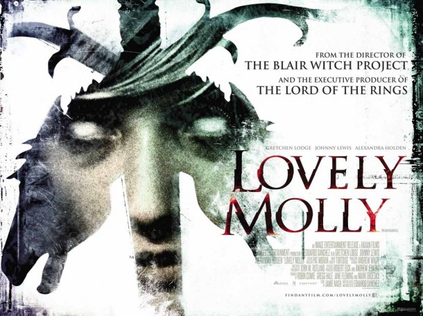 Upcoming movie Lovely Molly UK Poster