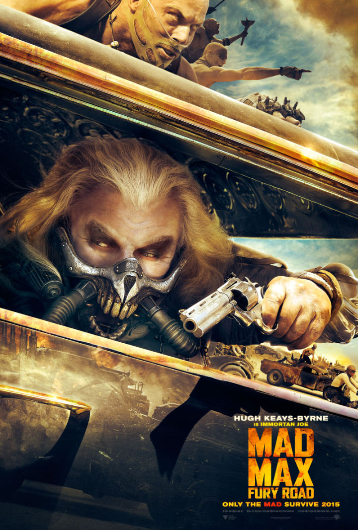 Mad Max: Fury Road movie poster - Masked Psycho