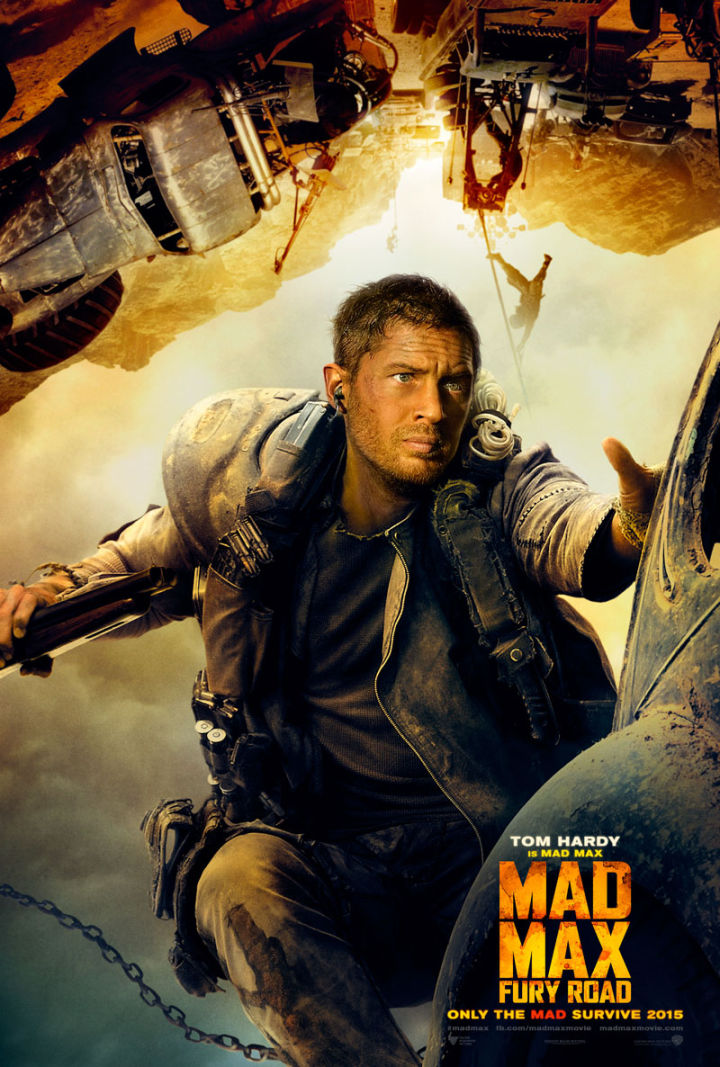Mad Max: Fury Road movie poster - Tom Hardy