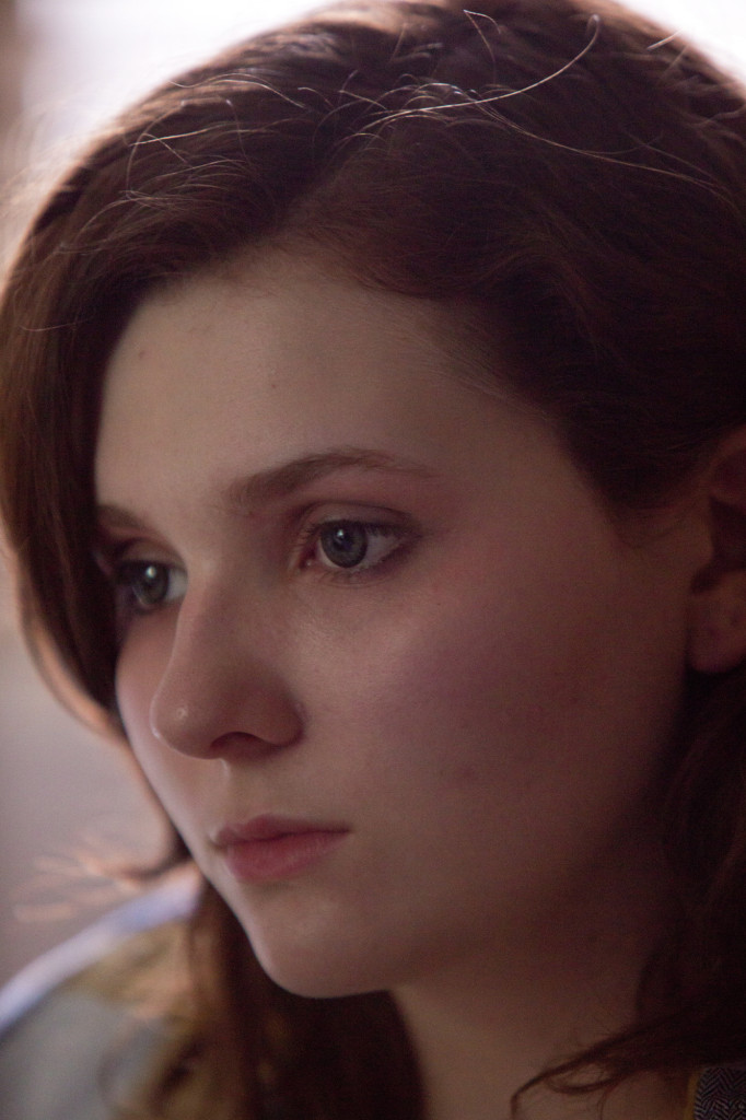 Maggie with Abigail Breslin