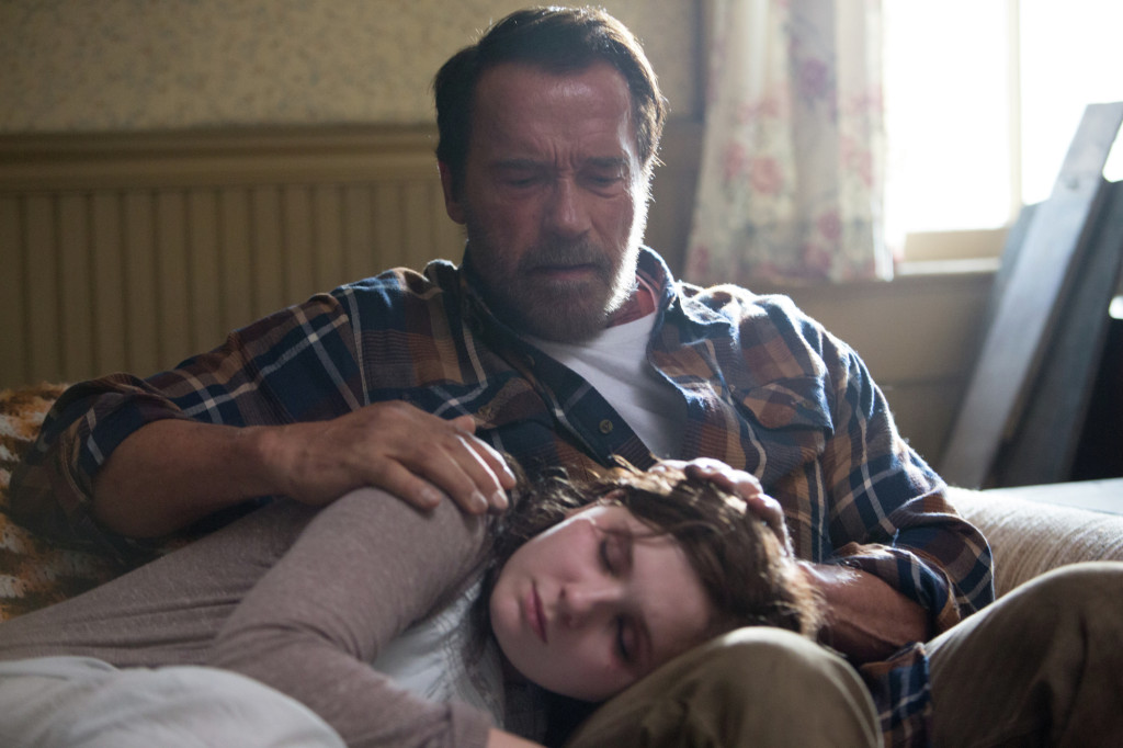 Maggie zombie movie with Arnold Schwarzenegger and Abigail Breslin
