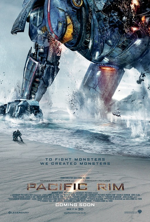 Pacific Rim - Official International Movie Poster
