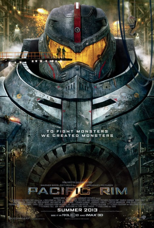 Pacific Rim - Official Movie Poster