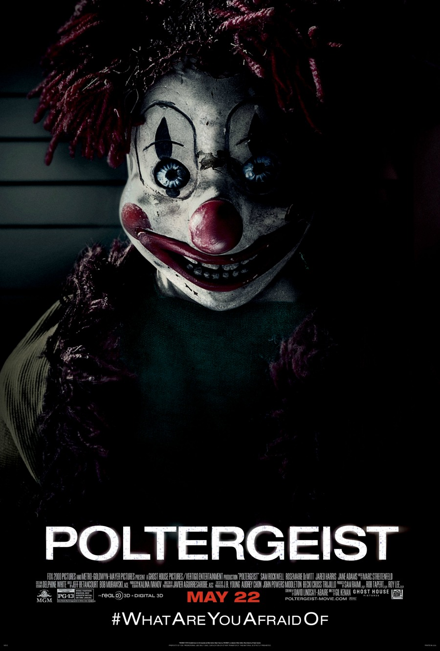 Poltergeist (2015) movie poster 2