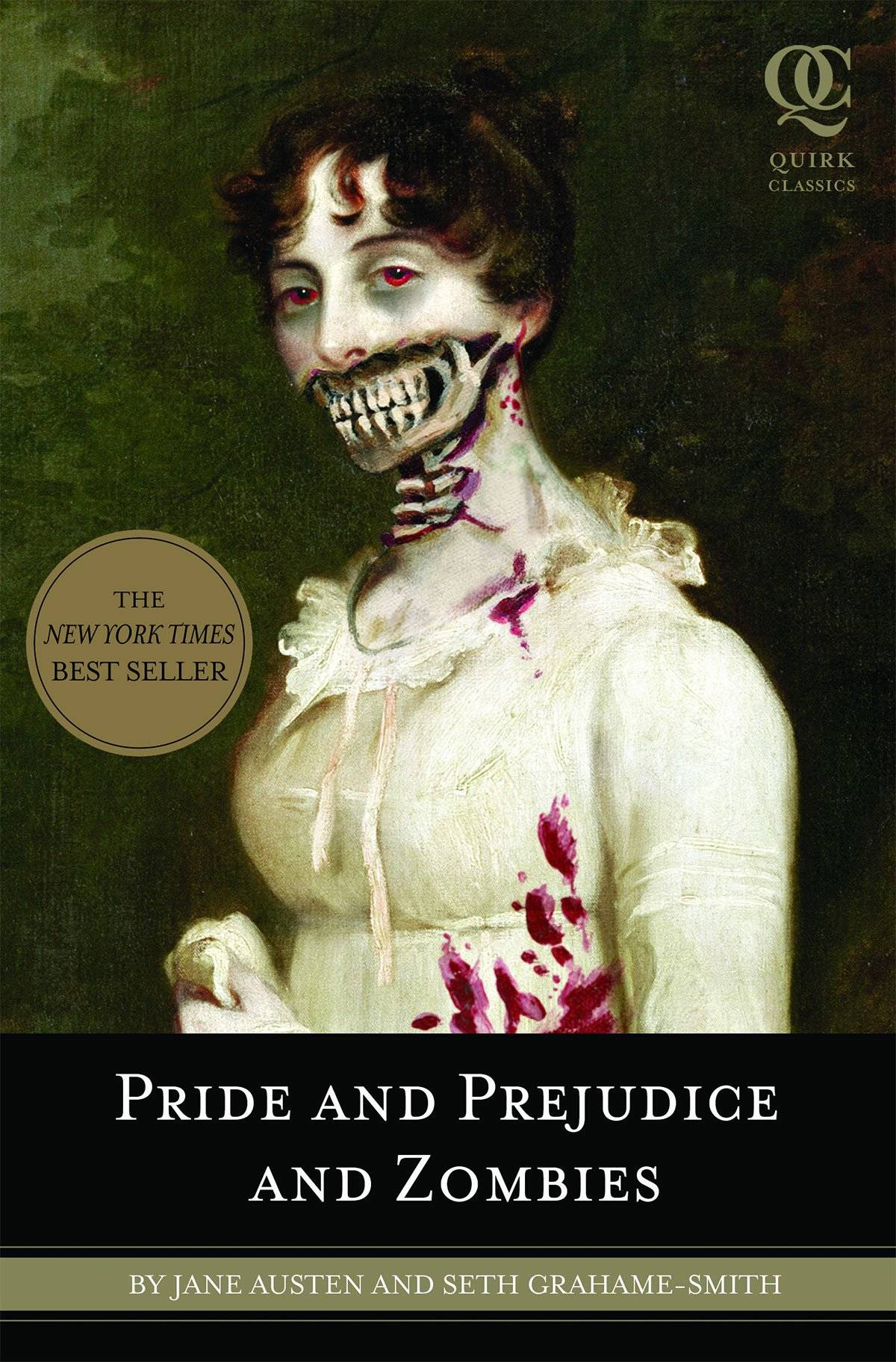 Pride and Prejudice and Zombies cover